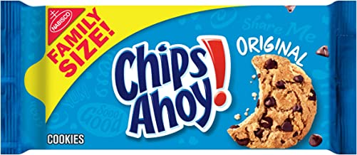 CHIPS AHOY! Original Chocolate Chip Cookies, Family Size, 18.2 oz