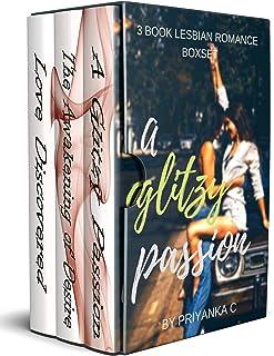 A Glitzy Passion (3 Book Lesbian Romance Boxset): Age-Gap, College, BDSM and more!