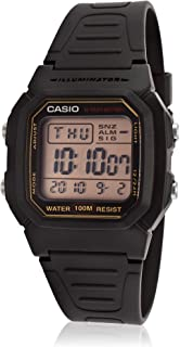Casio W-800HG-9AV Black Dual Time Unisex Digital Sports Watch