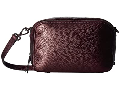 ECCO SP 3 Medium Boxy (Fig Metallic) Wristlet Handbags