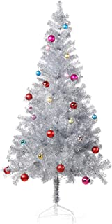 Best red and silver christmas tree decorations Reviews