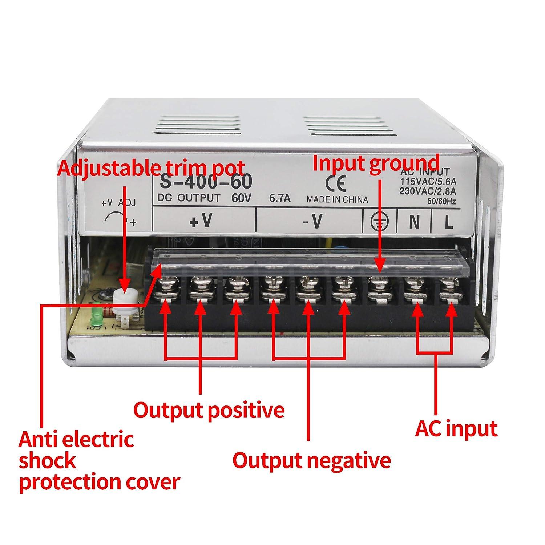 CNC Power Supply output 36v 11a