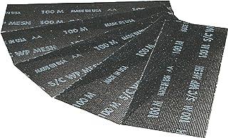 Triuso schuurrooster voor handschuurmachine 9-5x28 cm- korrel 100-5 stuks droogbouw schuurpapier vergelijkbaar schuurpapier