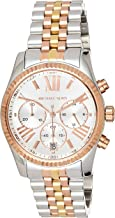 Michael Kors Womens Quartz Watch, Chronograph Display and Stainless Steel Strap MK5735