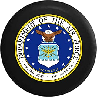 Dept of The Air Force USAF Eagle Military Seal Spare Tire Cover fits SUV Camper RV Accessories 29 in