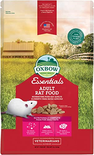 Oxbow Essentials Adult Rat Food - All Natural Adult Rat Food