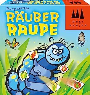 Schmidt Spiele 40886 Räuber Raupe, DREI Magier Kartenspiel,