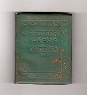 Fifty Best Poems of America; Little Leather Library; Green Redcroft Edition