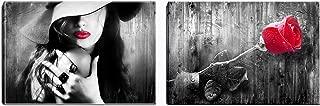 romantic woman paintings