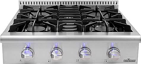 """30'' Thor Kitchen Gas Range Top/Cook Top 30"""" W x 27.5"""" D x 8.5"""" H HRT3003U"""