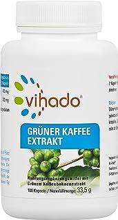 Vihado 咖啡粒 真正咖啡高剂量提取物 100粒 1瓶装(1 x 33,5 g)
