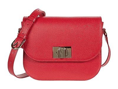 Furla 1927 Small Crossbody 23 (Ruby) Handbags