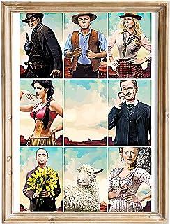 FANART369 Een miljoen manieren om te sterven in het Westen #5 poster A3 formaat fanart Film poster muur kunst print decor ...