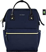 KROSER Laptop Backpack 15.6 Inch Stylish College Computer Backpack Casual Daypack Water Repellent Business Laptop Bag with USB Port for Travel/Business/School-Dark Blue