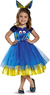 Dory Toddler Tutu Deluxe Finding Dory Disney/Pixar Costume, Medium/3T-4T
