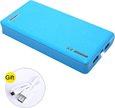 20000mAh Power Bank USB External Battery Portable Charger for iPhone, iPad, Galaxy & Android Devices and More (Blue)