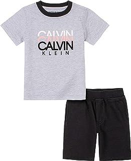 Calvin Klein Baby-Boys 2 Pieces Shorts Set