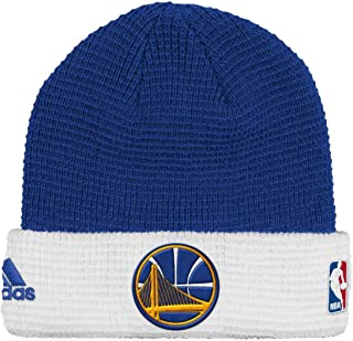 adidas Golden State Warriors NBA 2015 Authentic Team Cuffed Knit Hat