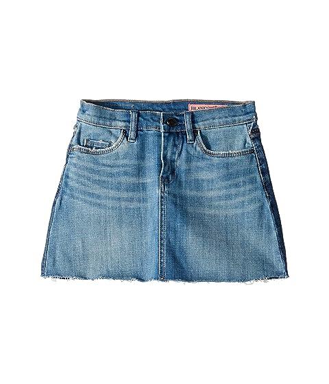 56f9a8631fe Blank NYC Kids Two-Tone Denim Wash Mini Skirt in Two Faced (Big Kids ...