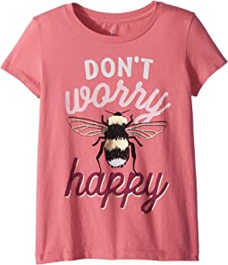 PEEK Don't Worry Tee (Toddler/Little Kids/Big Kids)