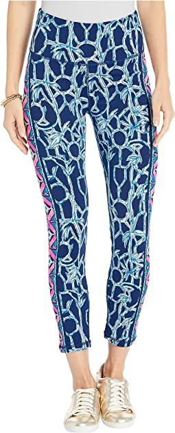 High Tide Navy Lucky Bamboo Engineered Leggings