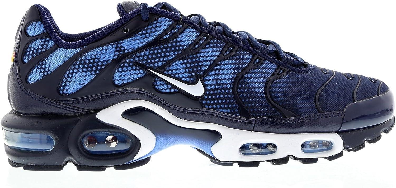 Nike Air Max Plus TXT TN Tuned Homme Baskets - Bleu nuit/blanc ...