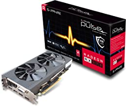 Sapphire Technology Technology Radeon 11266-04-20G Pulse RX 570 4GB GDDR5 Dual HDMI/ DVI-D/ Dual DP OC with Backplate (UEF...