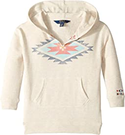 Cotton-Blend Graphic Hoodie (Little Kids)