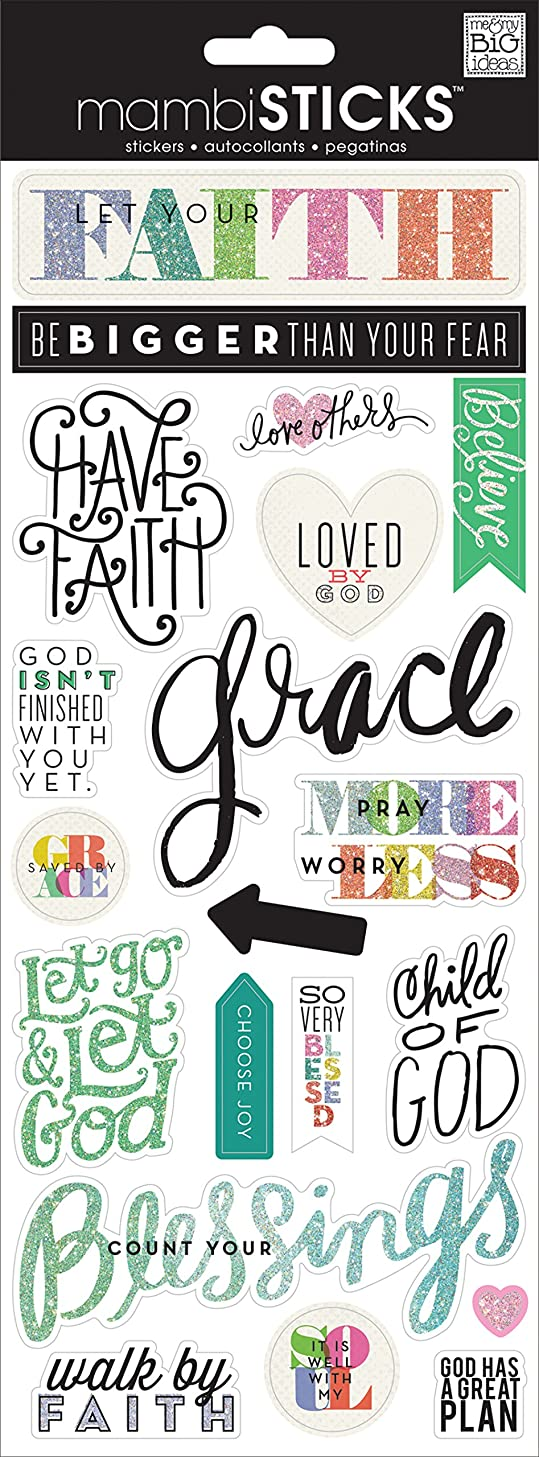 me & my BIG ideas Let Your Faith Sticker