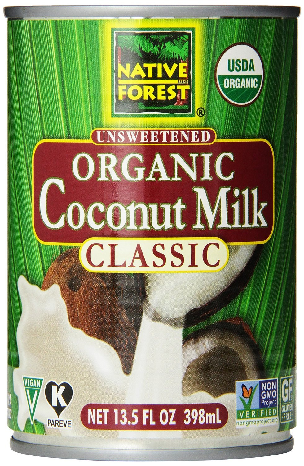 Native Forest Organic Classic Coconut Manufacturer OFFicial shop 13.5-Ounce Cans 24 Popular popular Milk