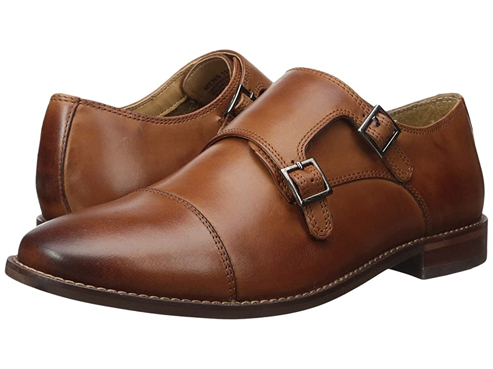 Florsheim Montinaro Double Monk Strap (Saddle Tan Smooth) Men