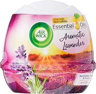 Air Wick Natural Oil Scented Gel, Aromatic Lavender, 180 g