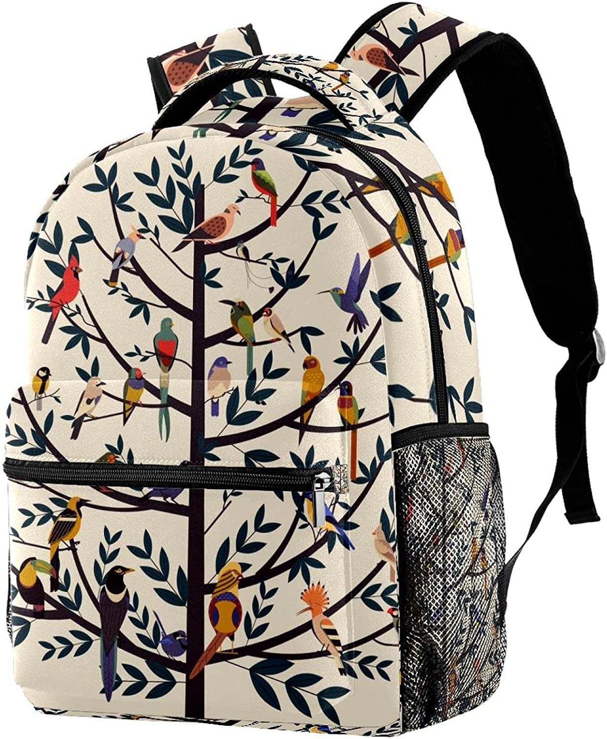 imobaby Vintage Tree Of Life Birds Casual Daypack B Travel At the price of surprise Same day shipping Large