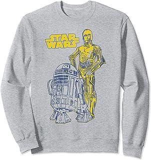 Star Wars Oversized Droid Friends Sweatshirt