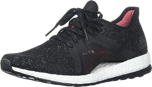 Adidas Wohommes Pureboost X EleHommest FonctionneHommest chaussures, gris Five Five Core noir Real Coral, 9.5 M US