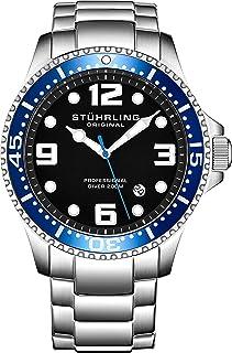 Stuhrling Original Pro Diver Reloj analógico para Hombre,