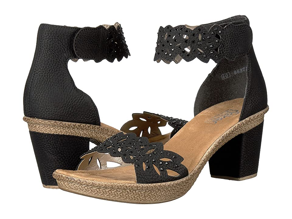 Rieker 66555 Rabea 55 (Black) Women