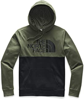 Men's Surgent Bloc Pullover Hoodie, New Taupe Green Heather/TNF Black Heather, L