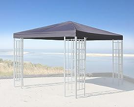 Impermeabile Materiale: Panama PCV Soft 370 g//m2 Extra Forte Modello 3 Sabbia Tetto di Ricambio per Gazebo 3 x 3 m Frearten.de Gazebo Antico