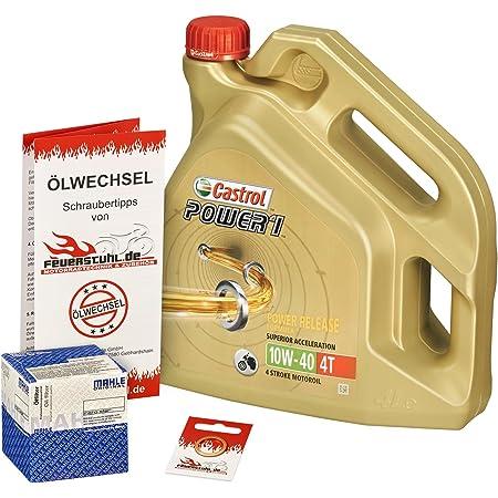 Motul 10w 40 Öl K N Ölfilter Für Honda Cbr 900 Rr Fireblade 00 03 Sc44 Sc50 Ölwechselset Inkl Motoröl Filter Dichtring Auto