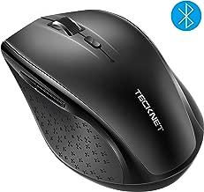 TECKNET Bluetooth Wireless Mouse (BM308) (Black)