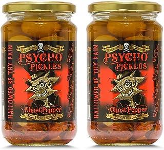 Psycho Onions - Ghost Pepper cebollas en escabeche tarros x2