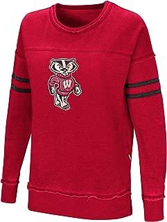 Colosseum Women's NCAA-Home Game- Fleece Retro Vintage Pullover Sweatshirt