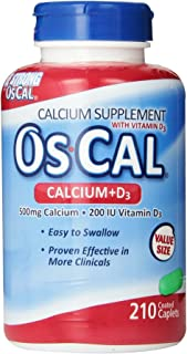 Best calcium 500mg with vitamin d 200 Reviews