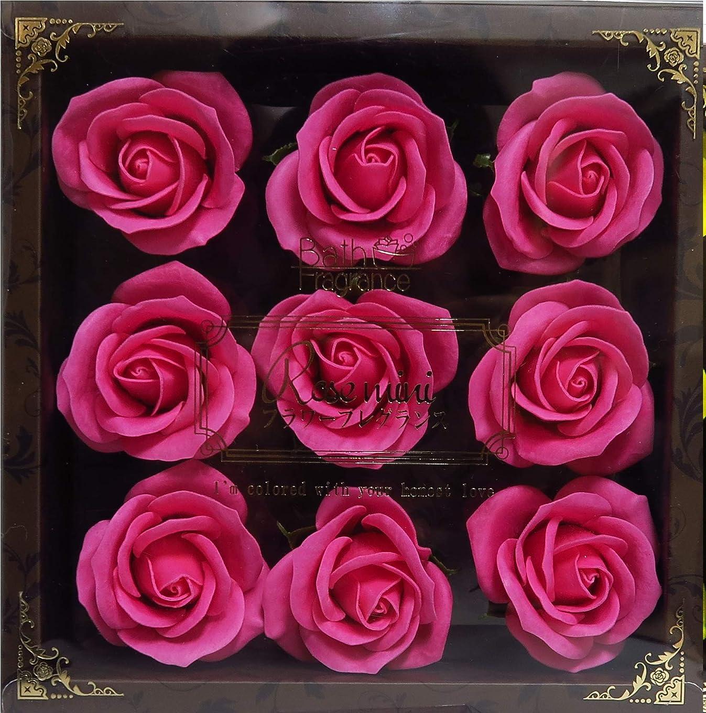ジョブ追い越すとは異なりバスフレグランス バスフラワー ミニローズフレグランス(L)ローズピンク お花の形の入浴剤