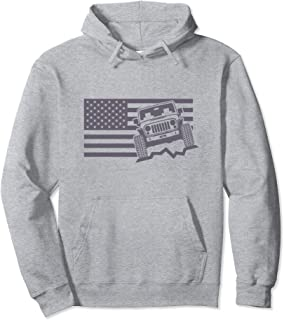 Im The Sheep of The Family American Offroad 4x4 Hoodie Graphic Hoodie for Men
