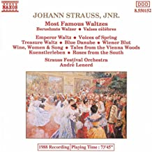most famous waltz by strauss