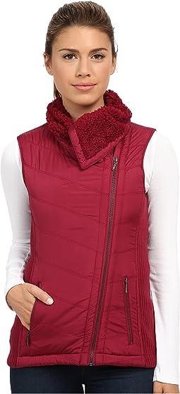 Diva Chevron Quilt Vest