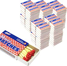 10 Packs Matches 32 Count Strike on Box Kitchen Camping Fire Starter Lighter