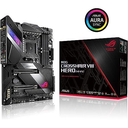 ASUS AMD AM4対応 マザーボード ROG CROSSHAIR VIII HERO (WI-FI) 【ATX】